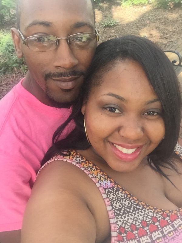 Laleza Davis and Jermaine Johnson